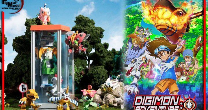 Digimon Adventure เปิดตัวฟิกเกอร์เซ็ตคู่หู ดิจิม่อน มาให้แฟนๆ ได้จับจองแล้ว