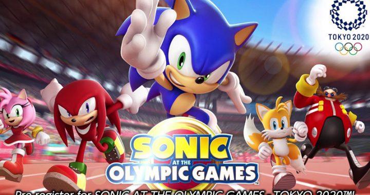 โซนิค ชวนเพื่อนๆ มาชิงความเป็นหนึ่งในเกม Sonic at the Olympic Game